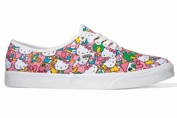 HELLO KITTY AND VANS! How could I resist, I never thought I would ever see a pair of Vans shoes I'd actually want to wear.