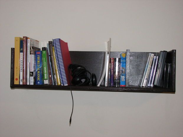 Best 25+ Wall mounted bookshelves ideas only on Pinterest | Wall mounted  storage shelves, Wall shelves for books and Wall mounted shelves