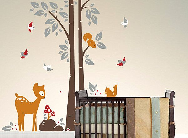 Best Deer Wall Decals Images On Pinterest Wall Stickers Deer - Baby room wall decals