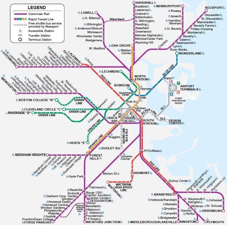 Mass Commuter Rail Map…note to self