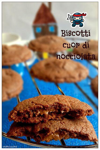Vivi in cucina: Biscotti cuor di Nocciolata  ( solo 3 ingredienti)...