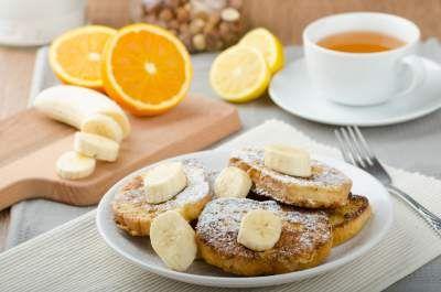 chickpea pancakes with bananas Claudia' Secrets recipe