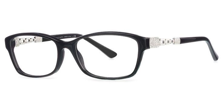 Frames | Women's Bvlgari Parentesi Cat Eye Glasses in Black - BV4061B | OPSM