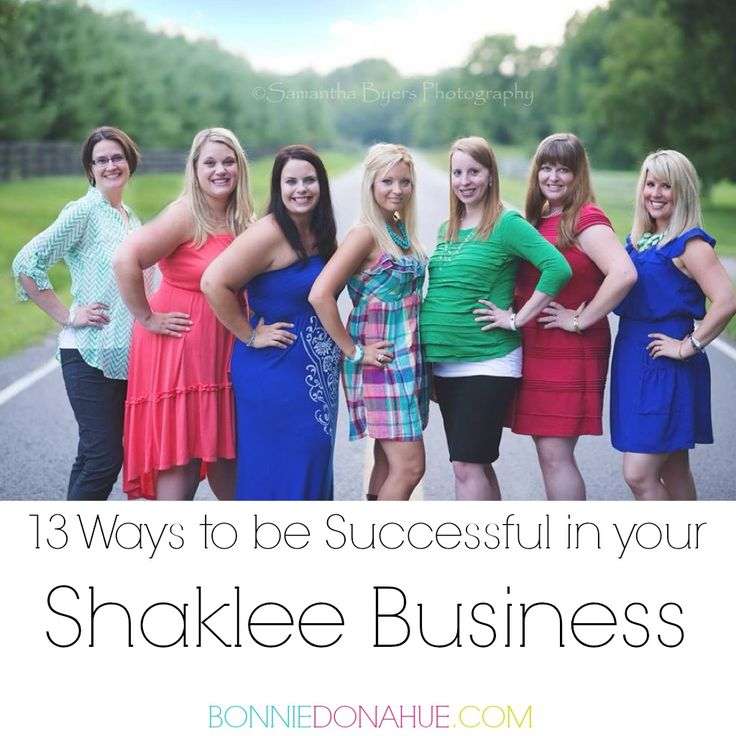 13 Ways to be Successful in your Shaklee Business