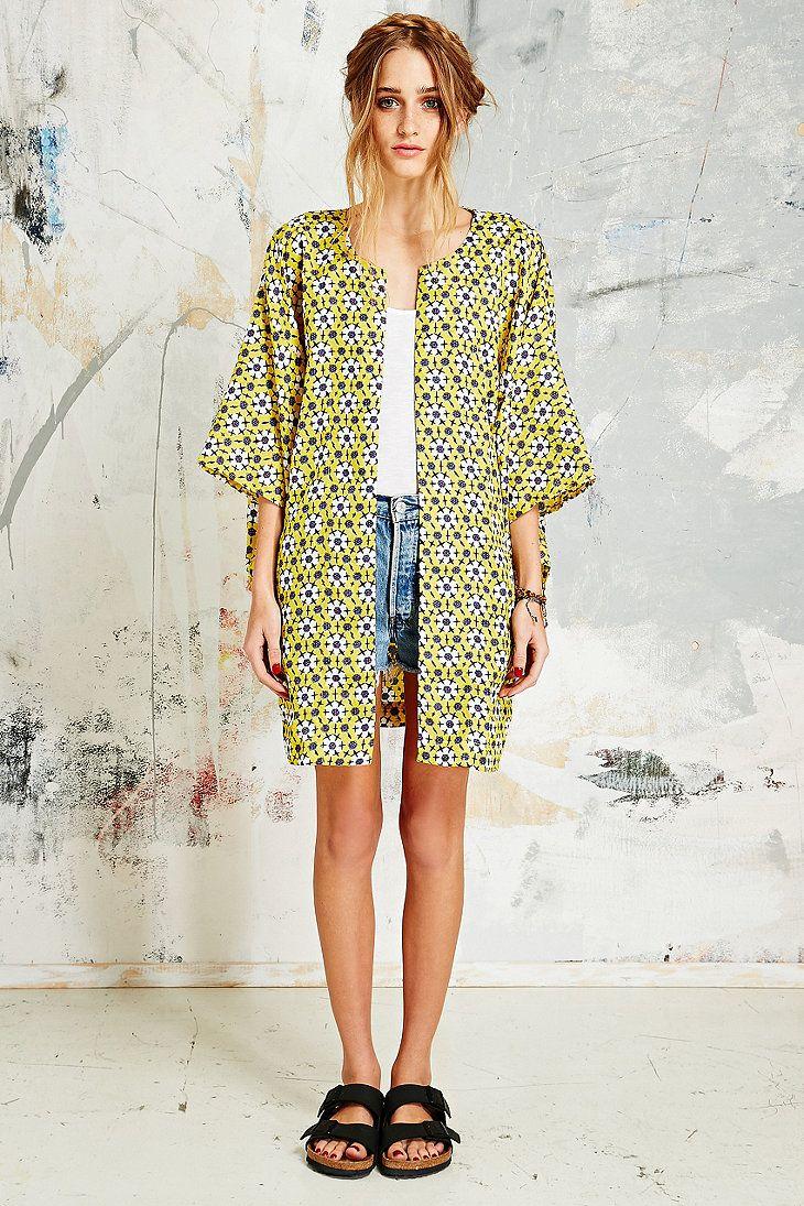 Native Rose Sunshine Kimono Jacket