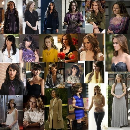 I miss the show partly because I loved to see what her character wore every week.