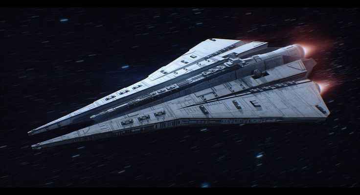 Imperial Star Destroyer Commission by AdamKop