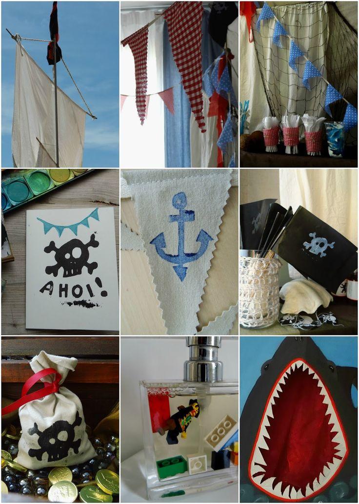 """Vor kurzem hieß es bei uns: """"Piraten, Ahoi!"""", denn mein großer Räuber feierte seinen fünften Geburtstag.  Und sein größter Wuns..."""