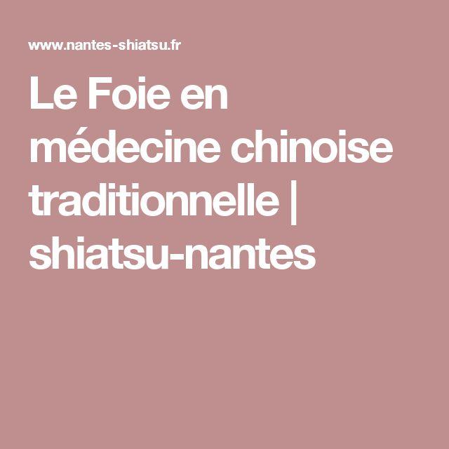 Le Foie en médecine chinoise traditionnelle   shiatsu-nantes