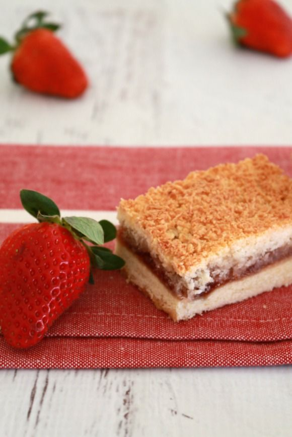 a Thermomix Sweet treat for all ages... the Coconut Jam Slice from @BakePlaySmile