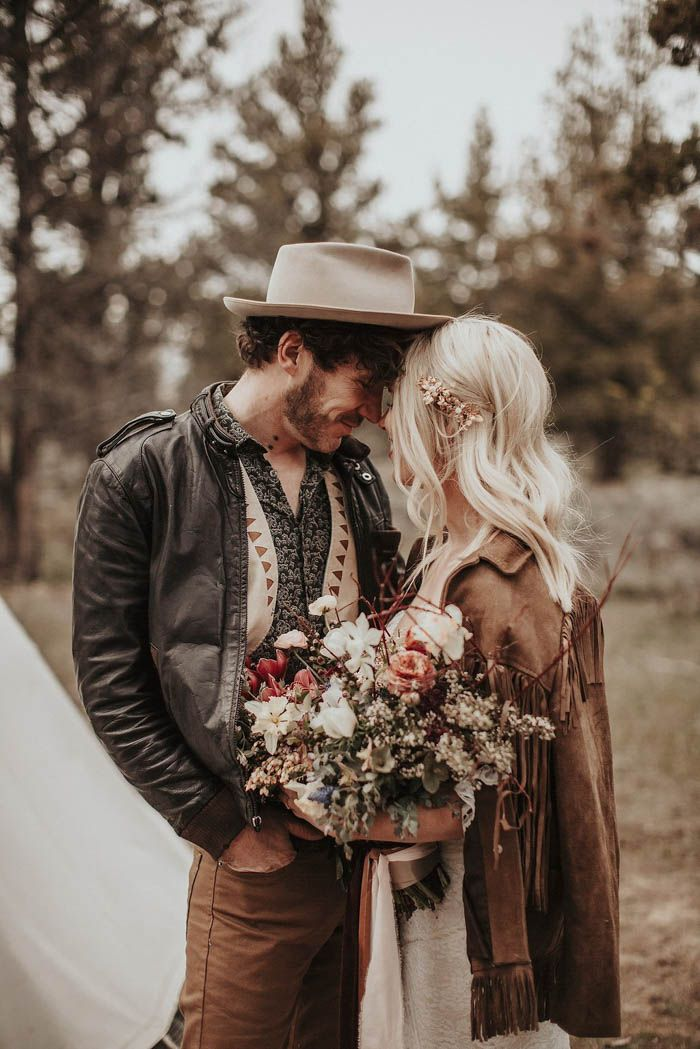 Bohemian style from this glamping wedding inspiration at Panacea at the Canyon  | Image by  Lieben Photography