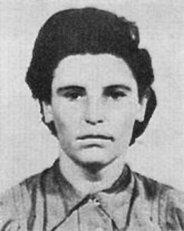 Hildegard Martha Lächert (January 20, 1920 in Berlin – 1995) was a notorious female guard, Aufseherin, at several German World War II concentration camps. She became publicly known for her service at Ravensbrück, Majdanek and Auschwitz-Birkenau. After the war she spent 27 years in prison altogether for her brutal treatment of inmates during her camp service.
