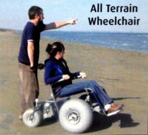 2017 - Wasaga Beach - has All Terrain Wheelchair available to borrow as well as boardwalks for easier access to the water.
