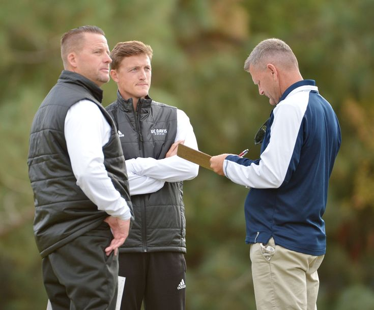 The UC Davis men's soccer coaching staff — head coach Dwayne Shaffer, associate head man Jason Hotaling and assistant coach Chris Leer — were named Far West Region Coaching Staff of the Year by United Soccer Coaches. The Aggies' crew was one of eight honored at the Division I level. O...  http://www.davisenterprise.com/sports/aggie-coaches-honored-2-gymnasts-sign-letters/  #davisenterprise #Sports #B3, #PRINTED