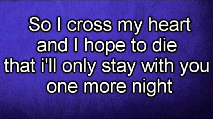Maroon 5 - One More Night (Lyrics)- love this song