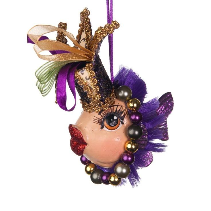 Jester fish ornament