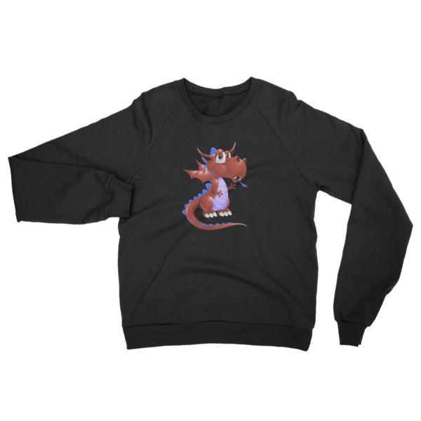 Draco Blood Red Raglan sweater