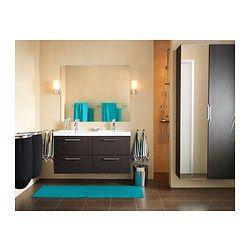 GODMORGON/ODENSVIK Meuble pour lavabo, 4 tiroirs - brun-noir - IKEA