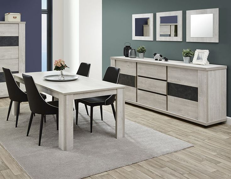 28 best salle a manger moderne images on pinterest modern dates and lineup. Black Bedroom Furniture Sets. Home Design Ideas