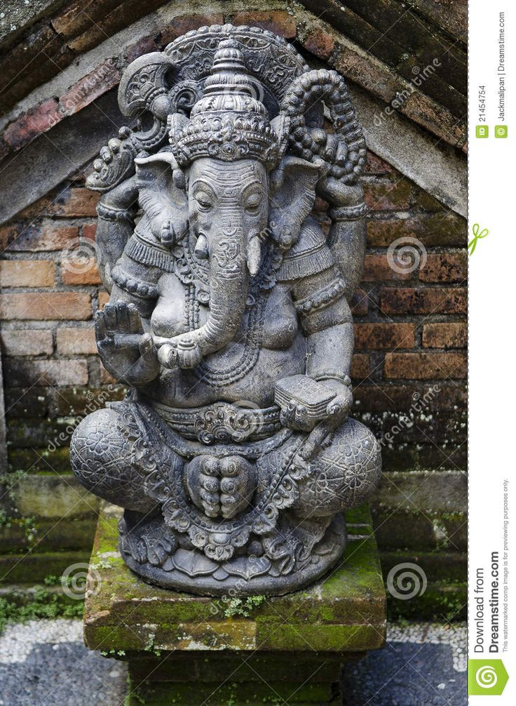 Image from http://thumbs.dreamstime.com/z/ganesh-statue-bali-indonesia-21454754.jpg.