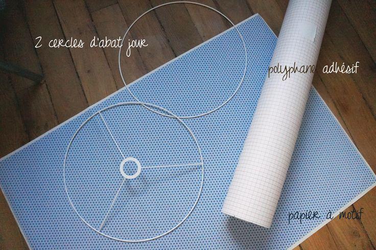 Comment faire un joli abat-jour avec du papier japonnais