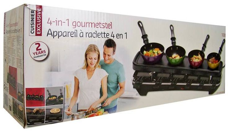 Cuisinier Exclusive Gourmetstel 4 in 1 #gourmetstel #gourmet #gourmetten #gourmetset