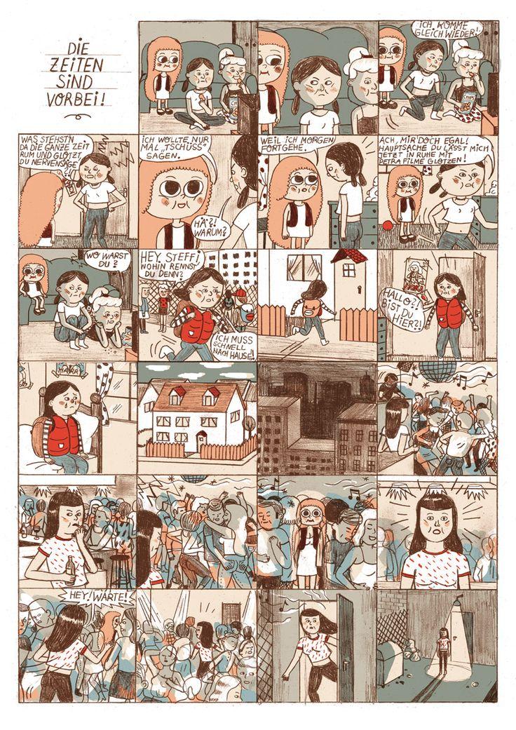 Excellent idea. Comic strip graphic