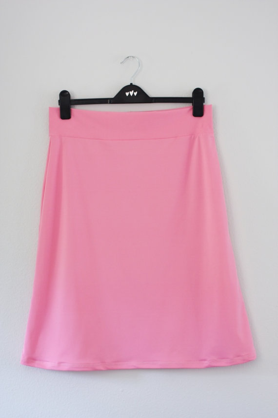 Athletic/Swim Skirt in Salmon Pink Size 10 by Julhart on Etsy, $25.00