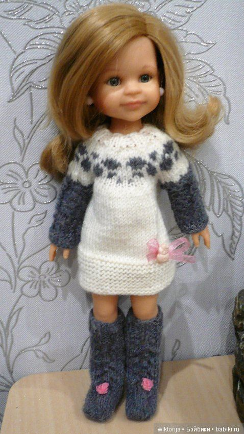 """Комплекты для кукол Paola Reina """"Совуня"""" и """"Мышуня"""" / Одежда для кукол / Шопик. Продать купить куклу / Бэйбики. Куклы фото. Одежда для кукол"""