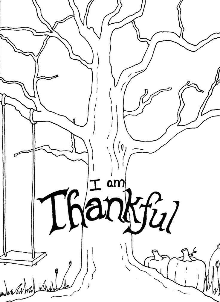 Thanksgiving Craft Idea - add leaves with words to show what kids are thankful for