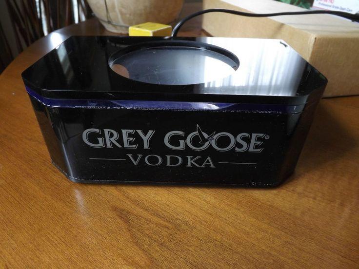 Grey Goose Bottle Glorifier - Display that High Priced Vodka - Display It.