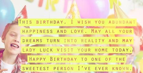 Happy Birthday Quotes – Birthday Cards, Images, Wishes