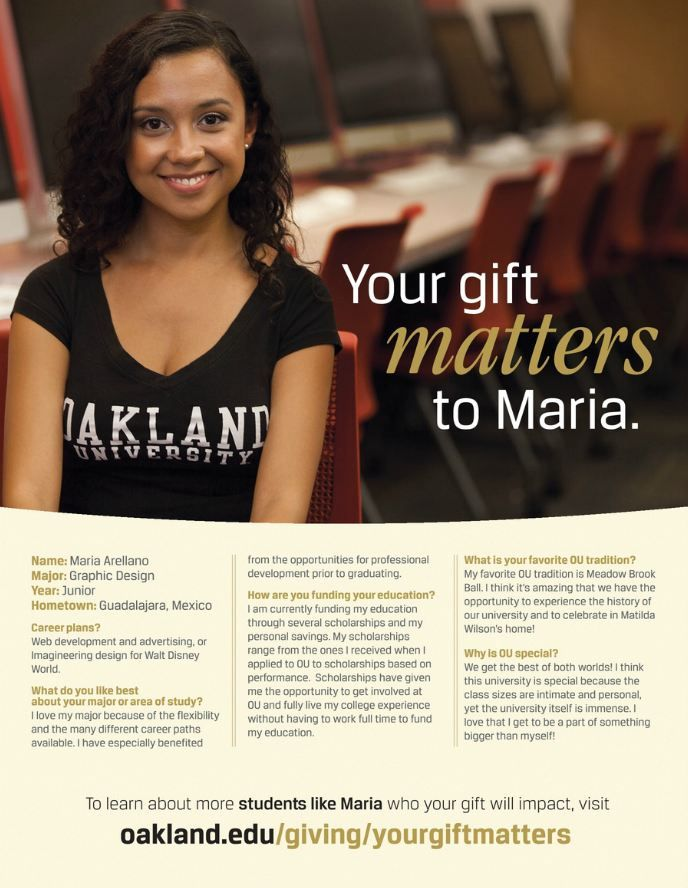Annual Giving Ad Oakland 98 best