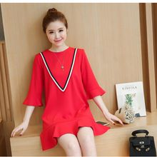 Maternity Dresses for Pregnant Women Vintage Teea for Pregnant Autumn Spring Loose Maternity Clothing Pregnancy Clothes E593 //FREE Shipping Worldwide //