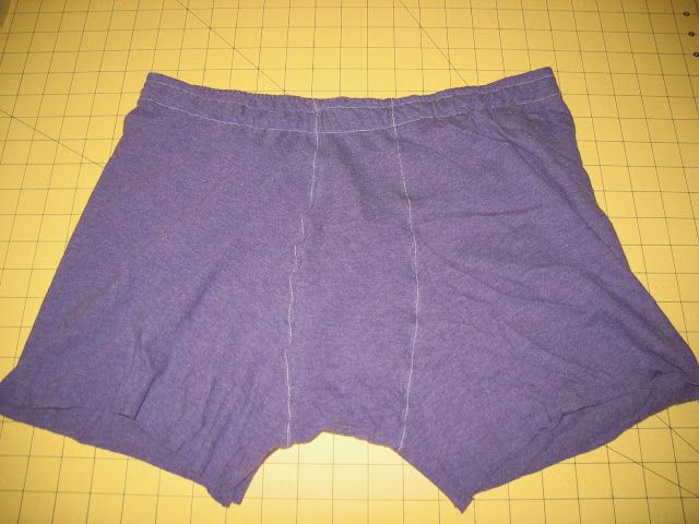 Making Boxer Briefs for the Man - a Tutorial. I think this will be the first thing to make for him!