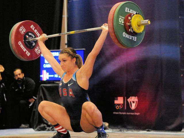 U.S. weightlifter Mattie Rogers talks about body image, power