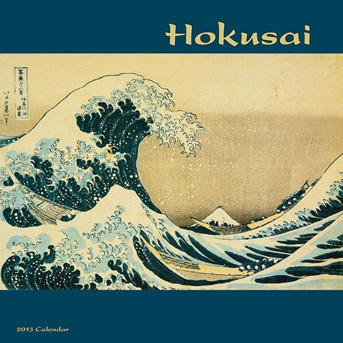 Hokusai Wall Calendar: Hokusai (1760 – 1849) has been long regarded as Japan's most famous artist, especially for his landscapes of Mount Fuji. His most famous works were all produced when he was in his 70s.  http://www.calendars.com/Asian-Art/Hokusai-2013-Wall-Calendar/prod201300006436/?categoryId=cat00004=cat00004#