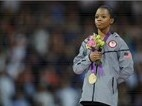 2012 Summer Olympics--Gabby Douglas taking the Gold!!
