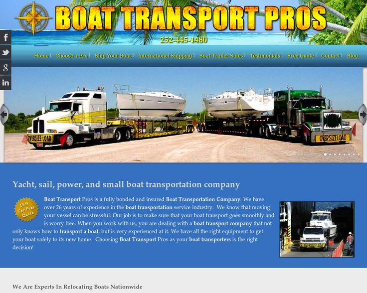 Boattransportpros provides *#Yachttransport* service with the right combination of experience and skill. Need to ship yacht to anywhere in the world? Call us today at: 1 877 297 3934 https://www.boattransportpros.com/prepare-your-boat/yacht-transport