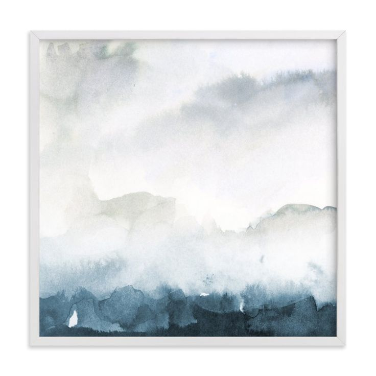 """""""Wake II-B"""" - Art Print by Lindsay Megahed in beautiful frame options and a variety of sizes."""