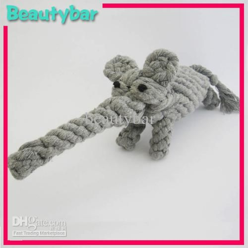 слон форма собака чу игрушки, домашних играть игрушки в категории игрушки и жвачки для собак