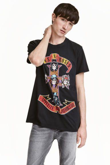 14.99€ T-shirt with a print motif | H&M