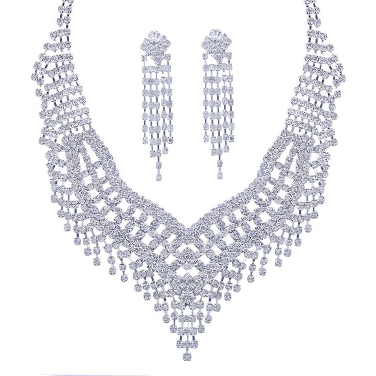 Find More Jewelry Sets Information about Wedding Jewelry Crystal Bridal Jewelry Sets For Women Long Tassel Statement Necklace/Earrings Set XL046,High Quality set panda,China set stamp Suppliers, Cheap set travel from nice JOJO :) on Aliexpress.com
