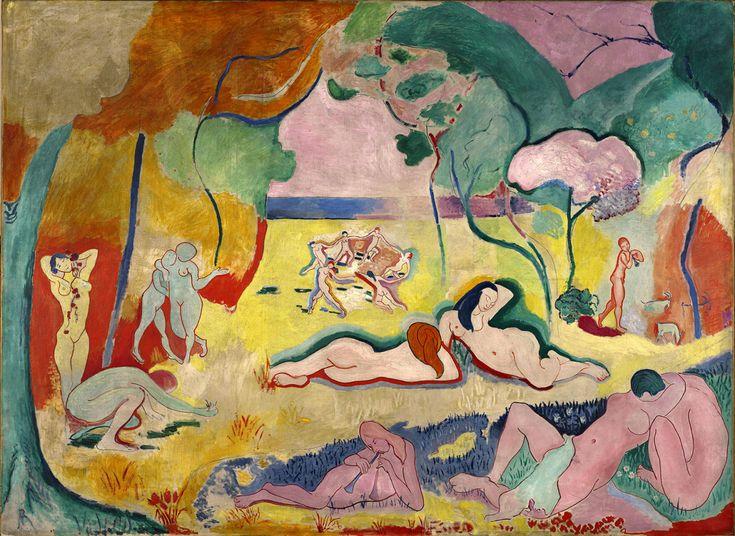 Matisse, Henri La alegría de vivir Fauvismo 1905-6