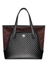 Bag FLOWERBAG (marsala-black)