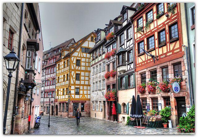 Weissgerbergasse Nuremberg Germany