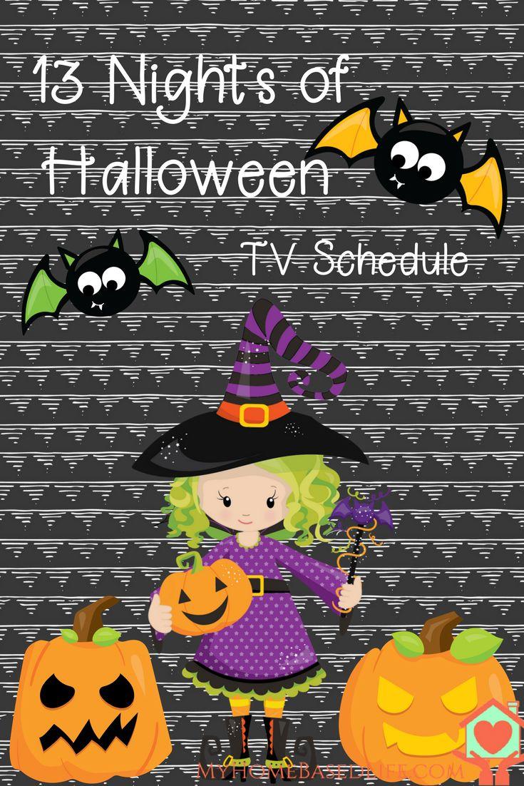 13 Nights of Halloween TV Schedule. Family Movie Nights. Halloween Movies   Halloween Kids Movies   #halloweenmovies via @myhomebasedlife