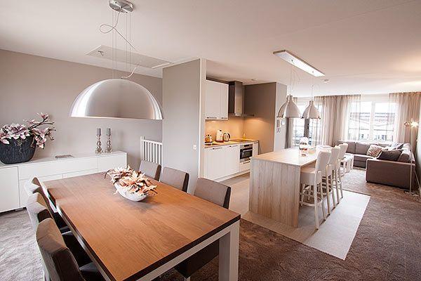 Inrichting en ontwerp keuken woonkamer - Interieurstylist - ShowHome.nl