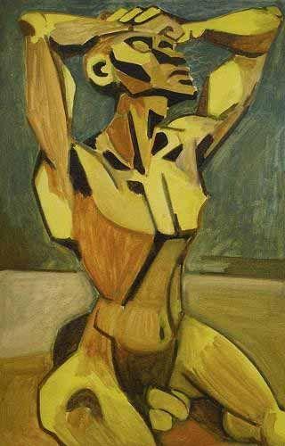 Abidin Dino (1913 - 1993)   Cubo-Expressionism   unknown title