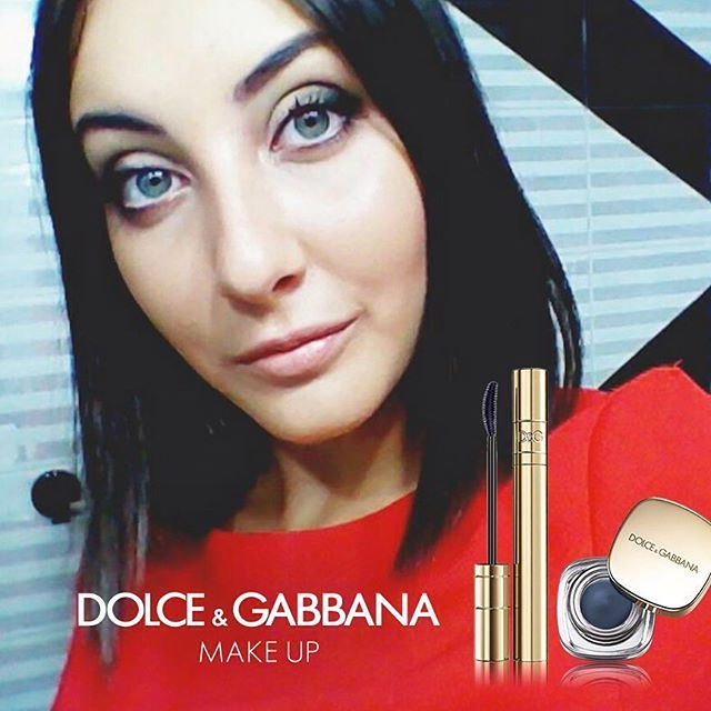 @elianaeletto's #DGBeauty look creates a smoky eyes in trendy blue using the Perfect Mono and Passioneyes Mascara #DGWOMENLOVEMAKEUP